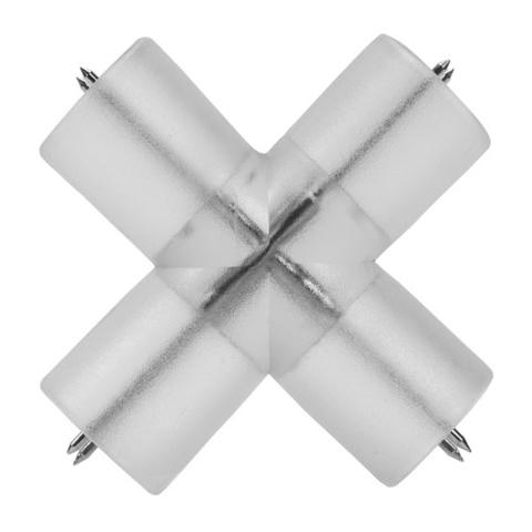 ПВХ соединитель коннектор на дюралайт светодиодную трубку шланг LED лэд на четыре разьема