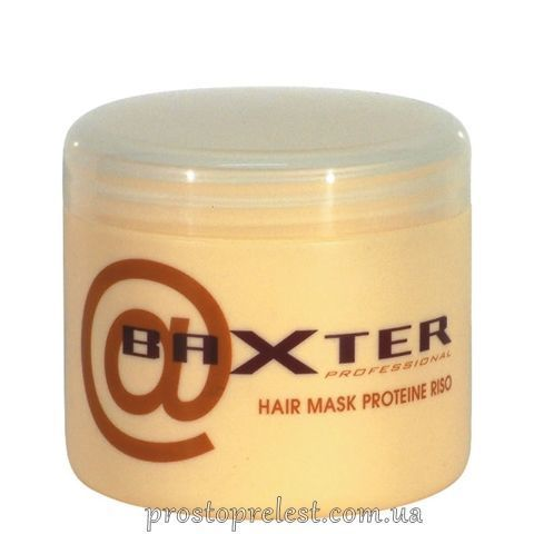 Punti di Vista Baxter Rice Proteins Hair Mask - Живильна маска для всіх типів волосся з рисовими протеїнами