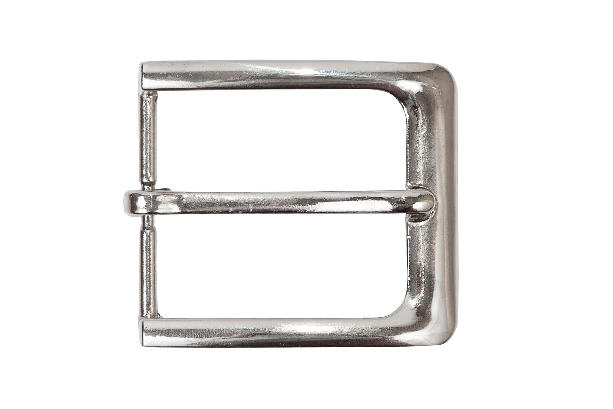Пряжка для ремня 34 мм, никель