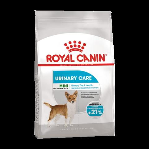 Royal Canin Mini Urinary Care Сухой корм для собак мелких пород с чувствительной мочевыделительной системой
