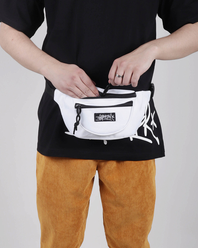 Сумка Anteater Waistbag White