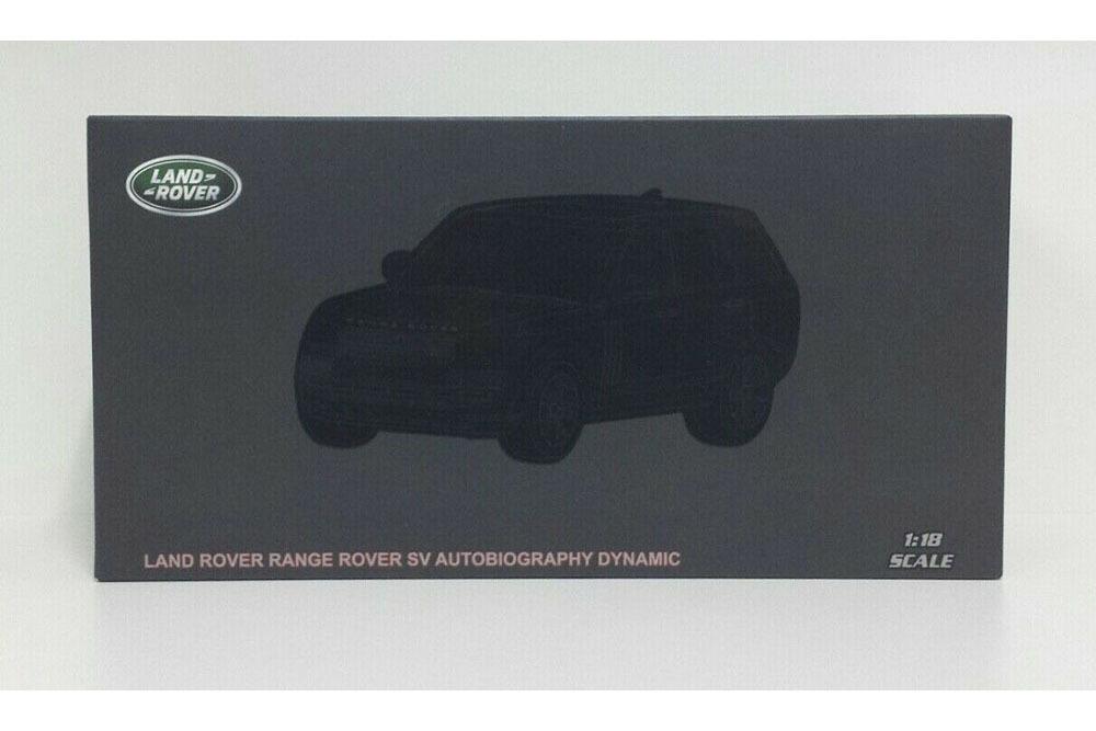 Коллекционная модель RANGE ROVER VOGUE SUPERCHARGE AUTOBIOGRAPHY 2020 RED