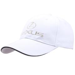 Модная бейсболка с вышивкой Лексус (Кепка Lexus) белая