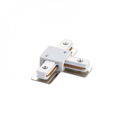 UBX-Q121 K31 WHITE 1 POLYBAG Соединитель для шинопроводов Т-образный. Однофазный. Цвет — белый. Упаковка — полиэтиленовый пакет.