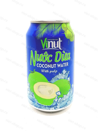 Вьетнамский напиток с соком кокоса, Vinut, 330 мл.