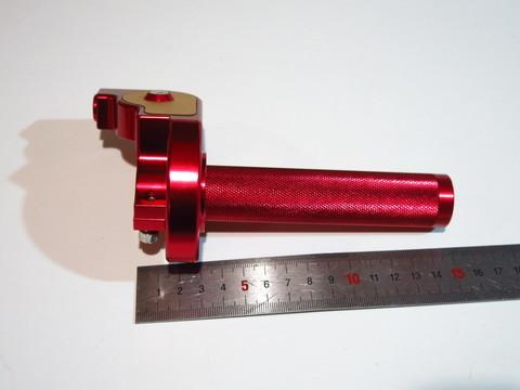 Ручка газа acerbis красная