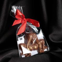 Шоколад фигурный «Любовная связь», молочный, 20 г