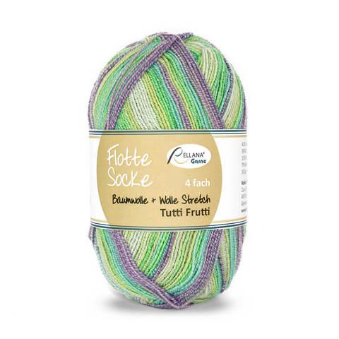 Flotte Socke Baumwolle Stretch Tutti Frutti 1413