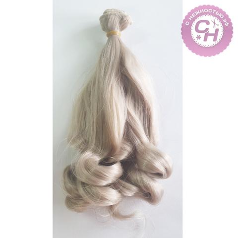 Волосы для кукол, трессы-нижние локоны 20 см*1 метр.