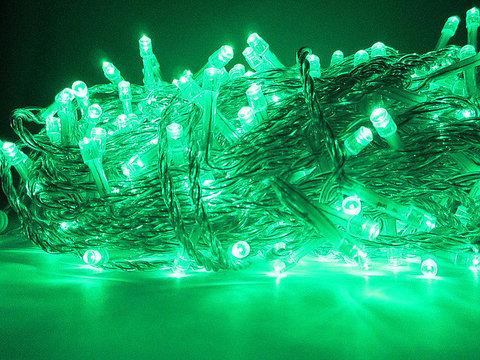 LED уличная гирлянда на дерево  30 м 300 led