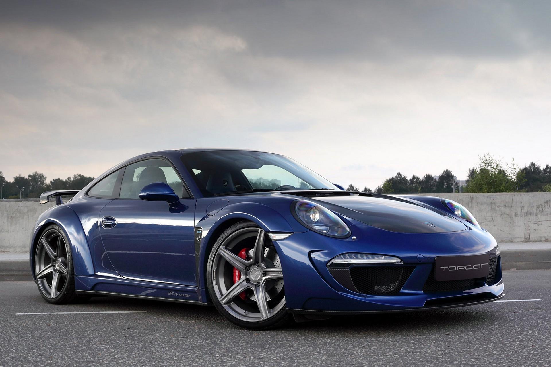 Обвес Topcar Design для Porsche 991 Stinger