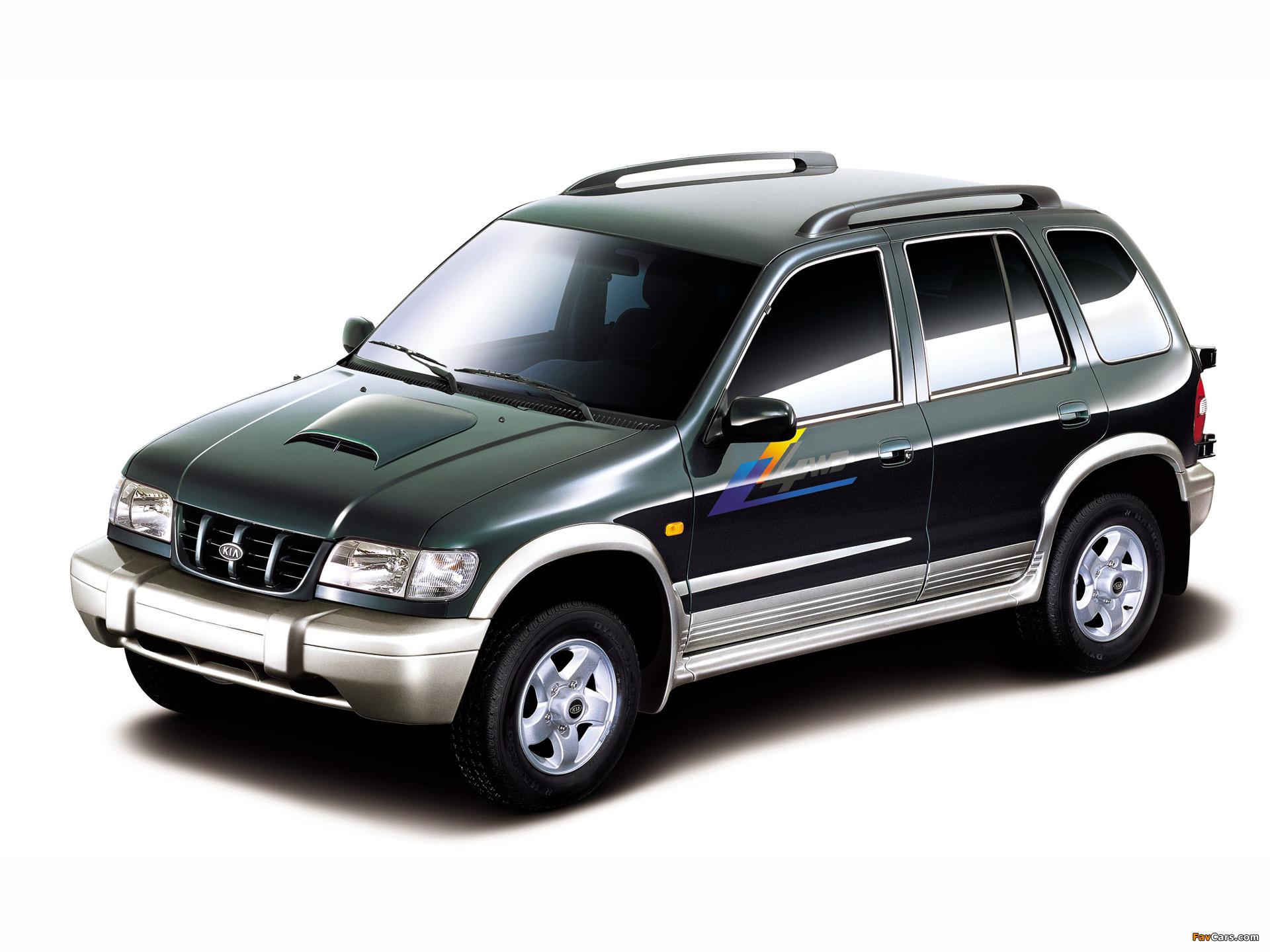 KIA Sportage I 1997-2006