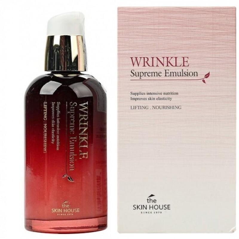 Эмульсия/ Ессенция Эмульсия для лица Skin House антивозрастная Wrinkle Supreme Emulsion 130 мл 6009503343.jpg