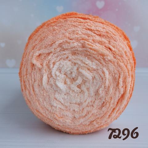 ALIZE SOFTY PLUS OMBRE BATIK 7296, Оранжевый