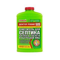 Очиститель для септика и дачного туалета Доктор Робик 609