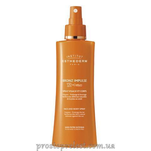 Institut Esthederm Bronz Impulse Face And Body Spray - Спрей для загара