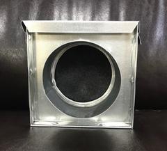 Кассетный угольный фильтр d 125мм