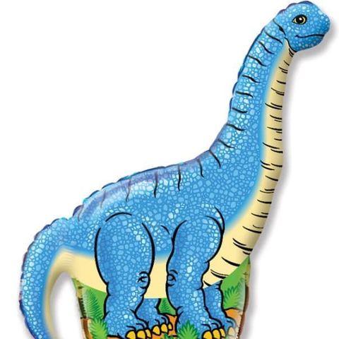 Фольгированный шар «Динозавр Диплодок»,  109 см