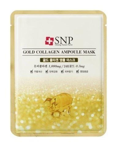 SNP Gold Collagen Ampoule Mask (10PC)
