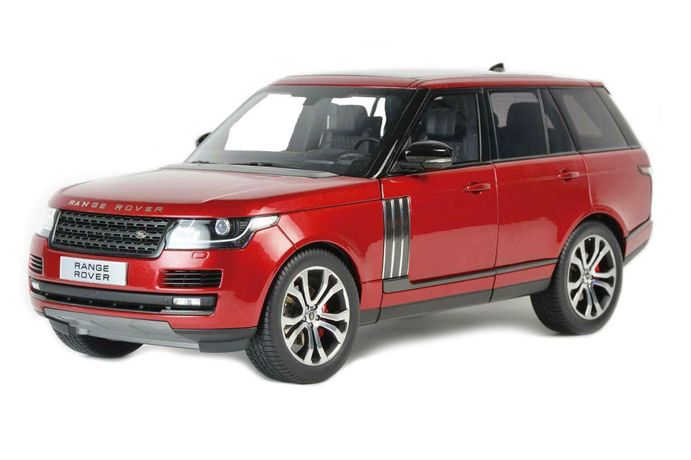 Коллекционная модель RANGE ROVER VOGUE SUPERCHARGE AUTOBIOGRAPHY 2020 RED