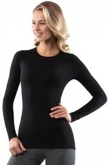 Кофта женская Norveg Soft Woolmark, черный