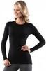 Картинка кофта Norveg Soft Sleeve W woolmark черный - 1