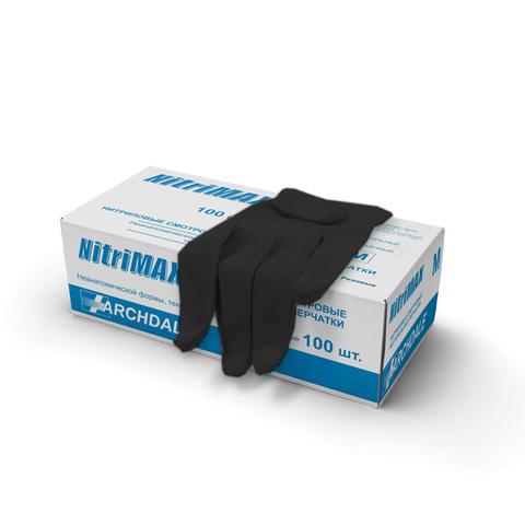 Перчатки нитриловые NitriMAX М