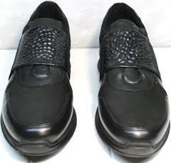 Купить черные кроссовки мужские Luciano Bellini 1087 All Black