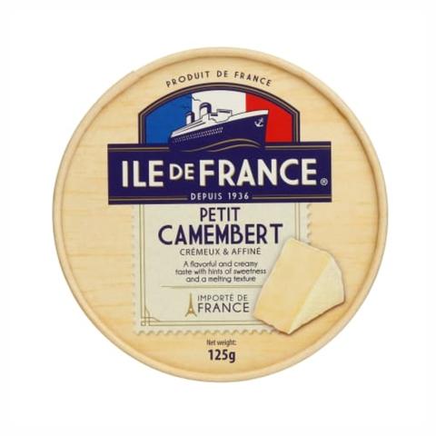 Сыр ILE DE FRANCE Camambert с белой плесенью 50% 125 г ФРАНЦИЯ