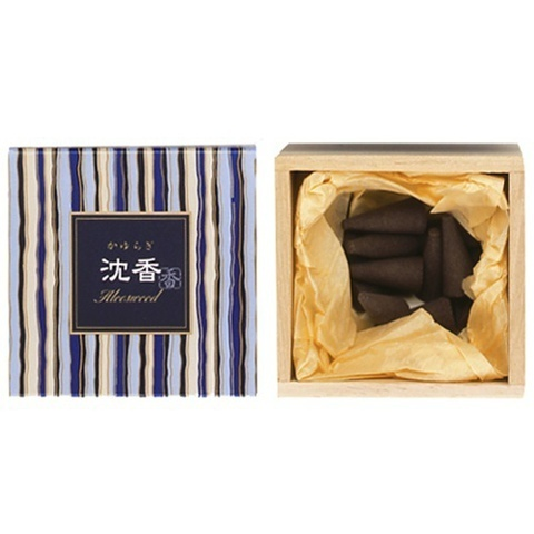 Японские благовония KAY Aloeswood Cone (12 конусов)