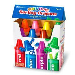 Набор для сортировки Радужные карандаши Learning Resources