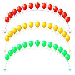 Арка из воздушных шариков с Гелием