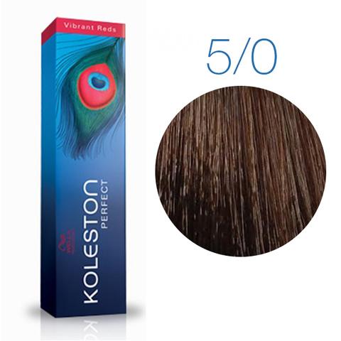 Wella Professional KOLESTON PERFECT 5/0 (Светло - коричневый) - Краска для волос