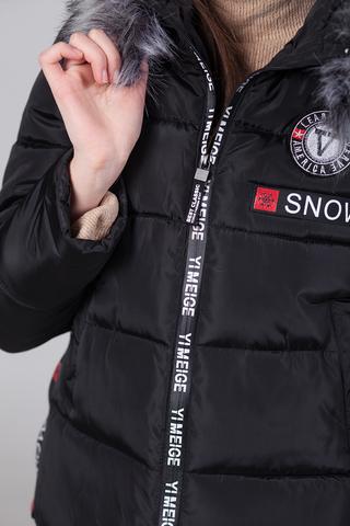 Куртка из плащевки с капюшоном Nadya