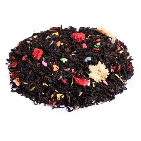 Черный десертный чай Малиновый сон ЧАЙ ИП Кавацкая М.А. 0,1кг