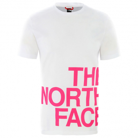 Футболка THE NORTH FACE GRAPHIC FLOW Белая