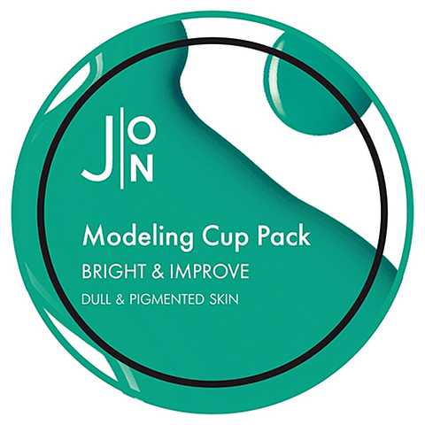 Альгинатная маска для лица ЯРКОСТЬ/СОВЕРШЕНСТВО Bright & Improve Modeling Pack, 18 гр, J:ON