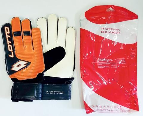 Вратарские перчатки Lotto с упаковкой