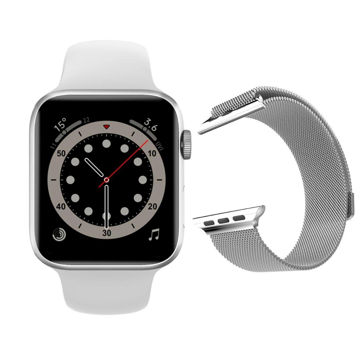 Смарт часы и браслеты Часы Smart Watch IWO 13 Lite (серебро) с Миланским браслетом Milanese_loop_IWO13L__2_.jpg