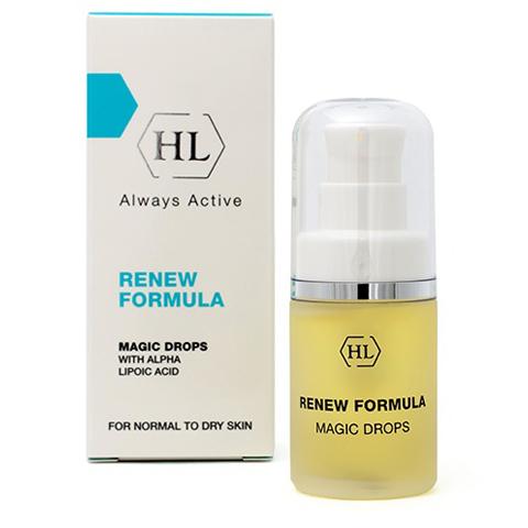 Holy Land Renew Formula: Магические капли для омоложения кожи лица включая область вокруг глаз (Magic Drops), 15мл