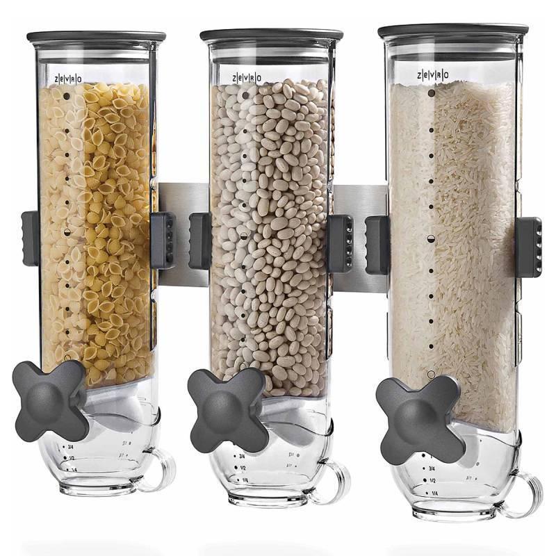 Кухонные принадлежности и аксессуары Диспенсер для сыпучих продуктов Triple Cereral Dispenser dispenser-dlya-sypuchih-produktov-triple-cereral-dispenser.jpg