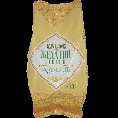 Желатин говяжий гранулированный Халяль VALDE, 500 гр