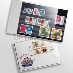 Защитный пластиковый конверт для марок, банкнот, открыток, 145x95 mm, прозрачный