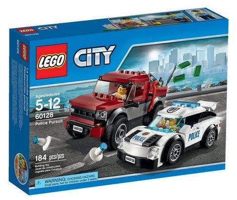 LEGO City: Полицейская погоня 60128 — Police Pursuit — Лего Сити Город