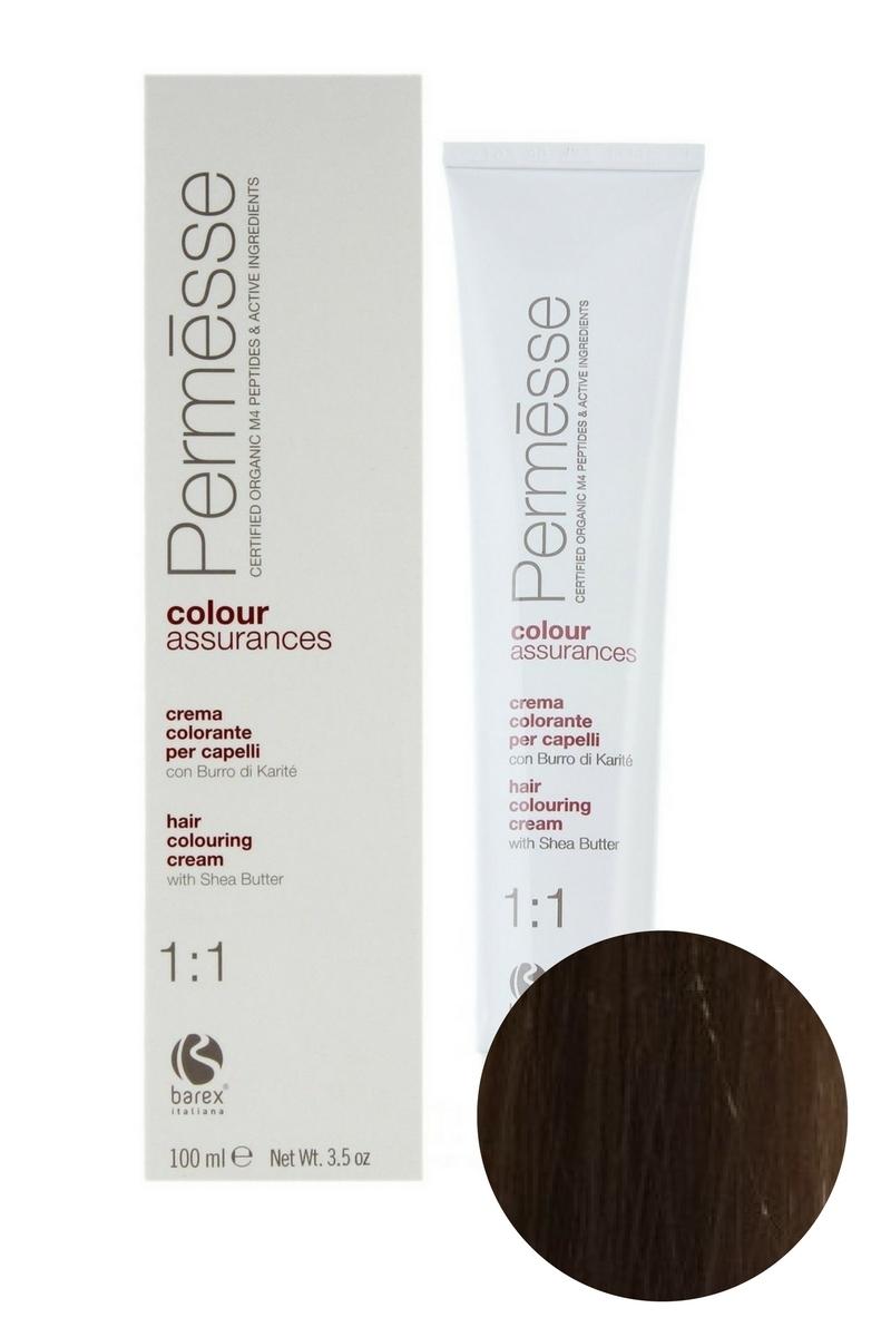 Крем-краска для волос 8.8 Шоколад и молочный шейк Permesse, Barex