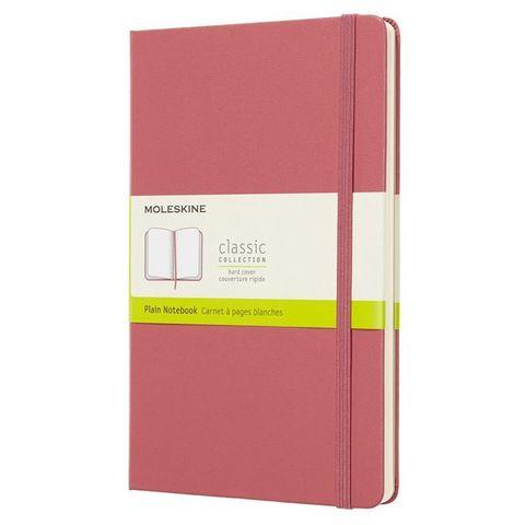 Блокнот Moleskine CLASSIC QP062D11 Large 130х210мм 240стр. нелинованный твердая обложка розовый