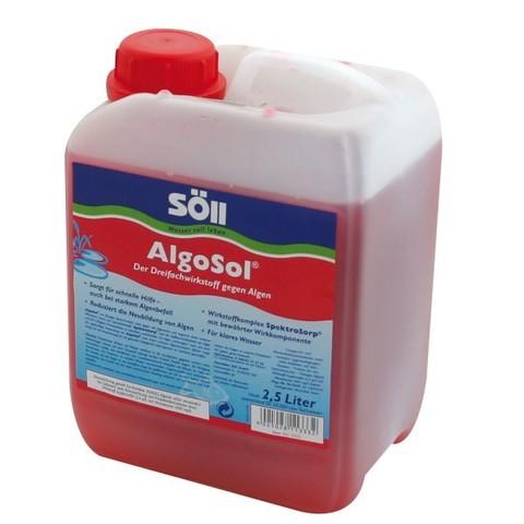 Препарат для борьбы с водорослями в пруду Soll AlgoSol 2,5L