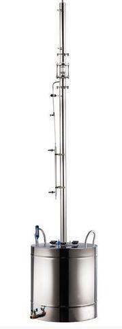Ректификационная колонна AquaGradus Альфа - комплект 100 л - соединение фланец