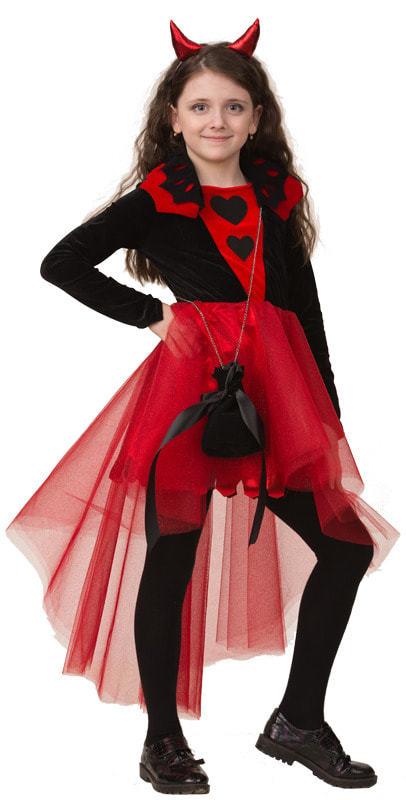 Карнавальный костюм детский Дьяволица