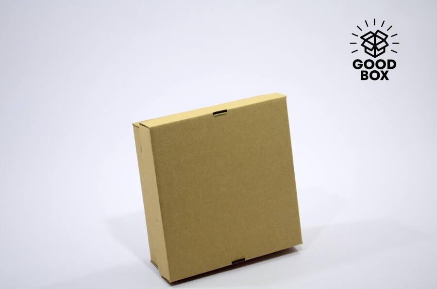Тонкая крафт коробка купить в Алматы